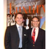 Jeffrey Bilhuber and George Glazer at Doyle New York