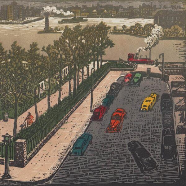 Woldemar Neufeld, Gracie Square, Manhattan, detail