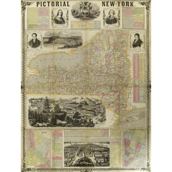 Pictorial New-York New York: Ensign, Bridgman & Fanning, 1855