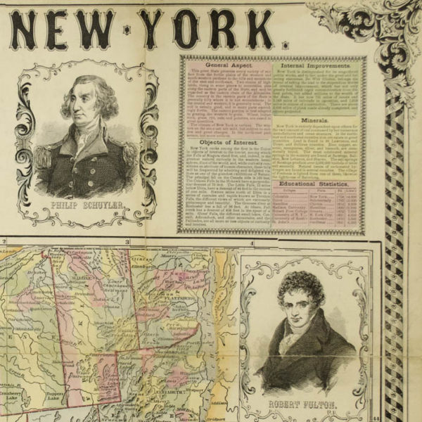 Pictorial New-York, detail