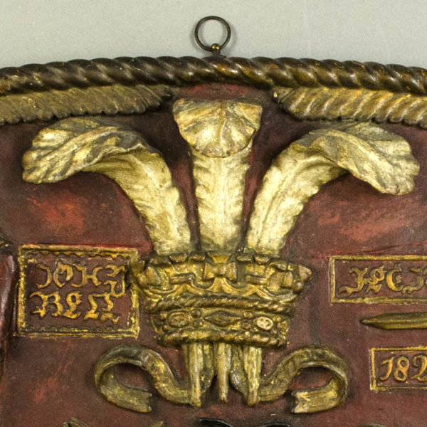 Prince of Wales Boat Crest, detail