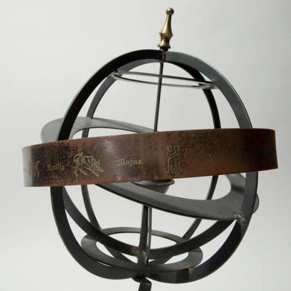 Baroque Style Ptolemaic Armillary Sphere, detail