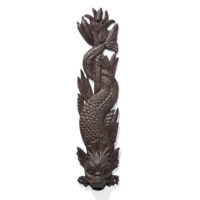 Dolphin Figural Fountain Spout