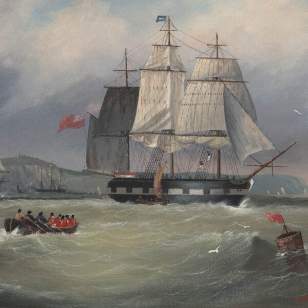 Michael Matthews, British Clipper Ships (No. 1), detail
