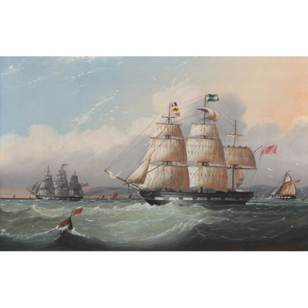 Michael Matthews, British Clipper Ships (No. 2)