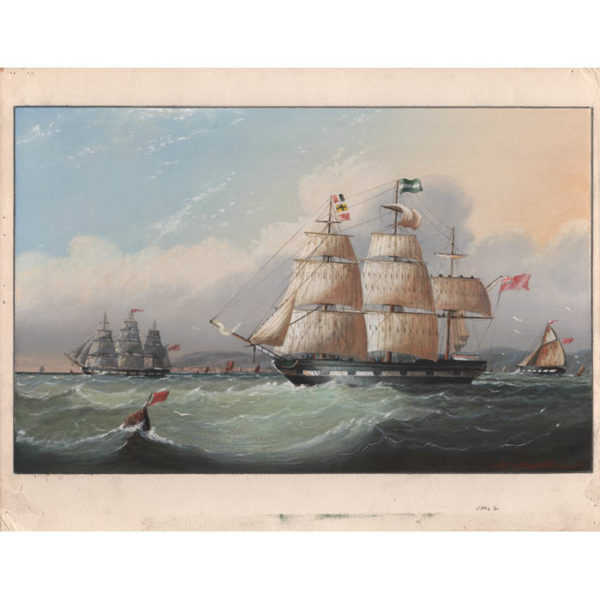 Michael Matthews, British Clipper Ships (No. 2), full sheet