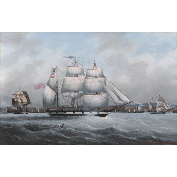 Michael Matthews, British Clipper Ships (No. 4)