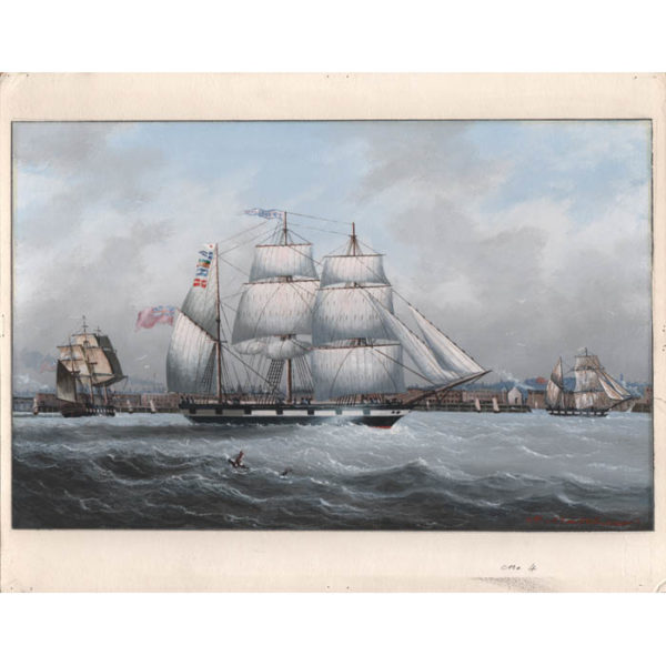 Michael Matthews, British Clipper Ships (No. 4), full sheet