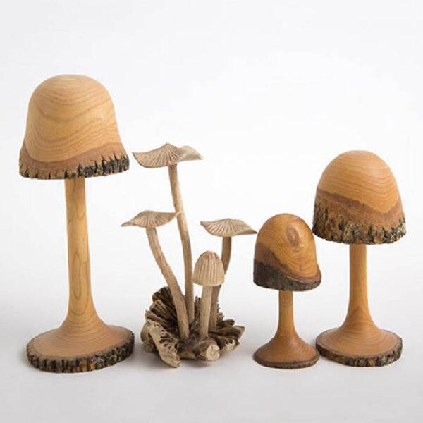 Mushroom Sculptures