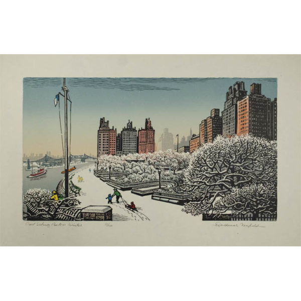 Woldemar Neufeld, Carl Schurz Park in Winter