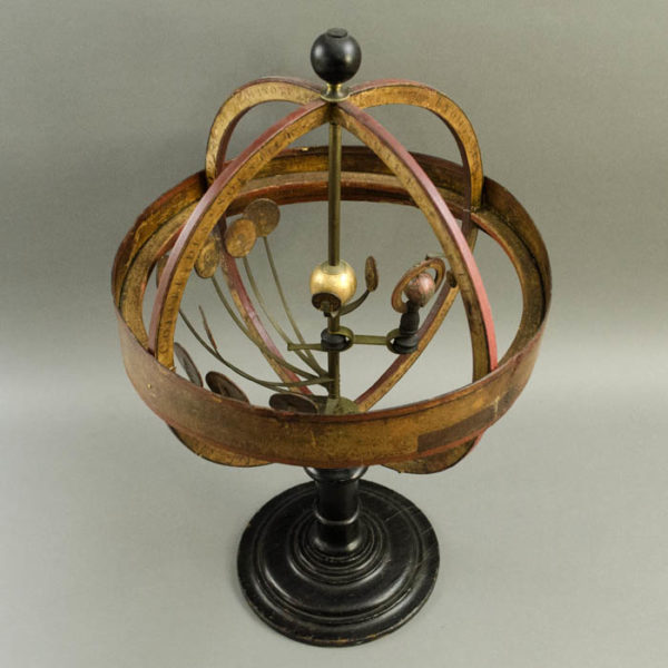 Pasteboard French Armillary Orrery