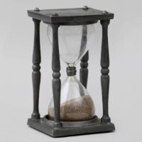 Hourglass in Pewter Stand