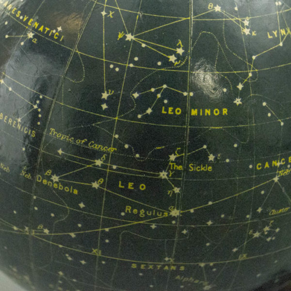 George Philip & Son 6-inch Celestial Globe, detail