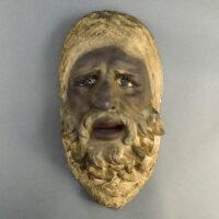 Sal Terracina, Bearded Man Mask Plaque