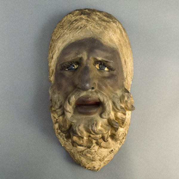 Sal Terracina, Bearded Man Mask Plaque