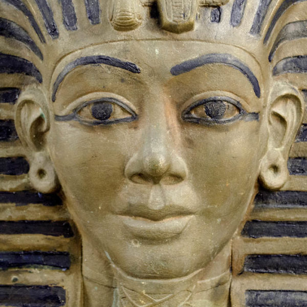 King Tutankhamen Funerary Mask, detail