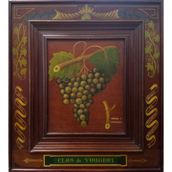 Clos de Vougeot, Détail 2 (Printemps) [Green Grapes]