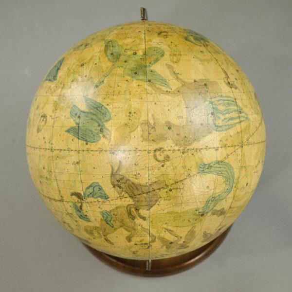 Josiah Loring 9.5-inch Celestial Globe, detail