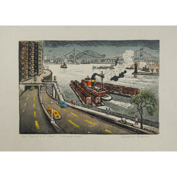 Woldemar Neufeld, East River at 81st Street