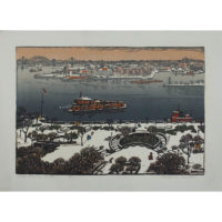 Woldemar Neufeld, East River in Winter