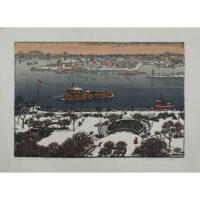 Woldemar Neufeld, East River in Winter