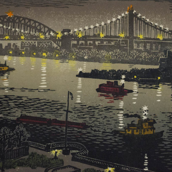 Woldemar Neufeld, Hell Gate at Night, detail