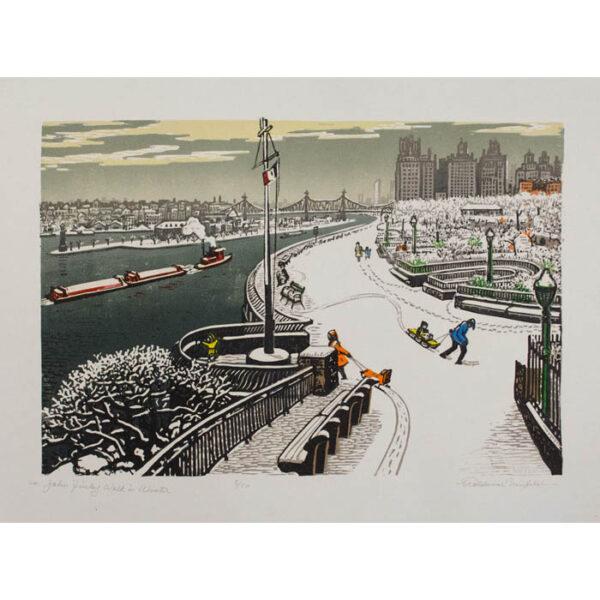 Woldemar Neufeld, John Finley Walk in Winter
