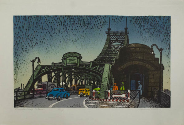 Woldemar Neufeld, Queensboro Bridge Entrance