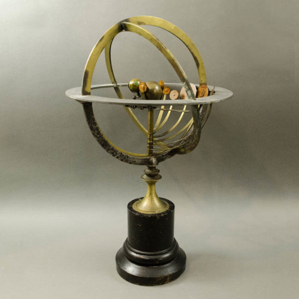 Copernican Armillary Sphere with Internal Orrery