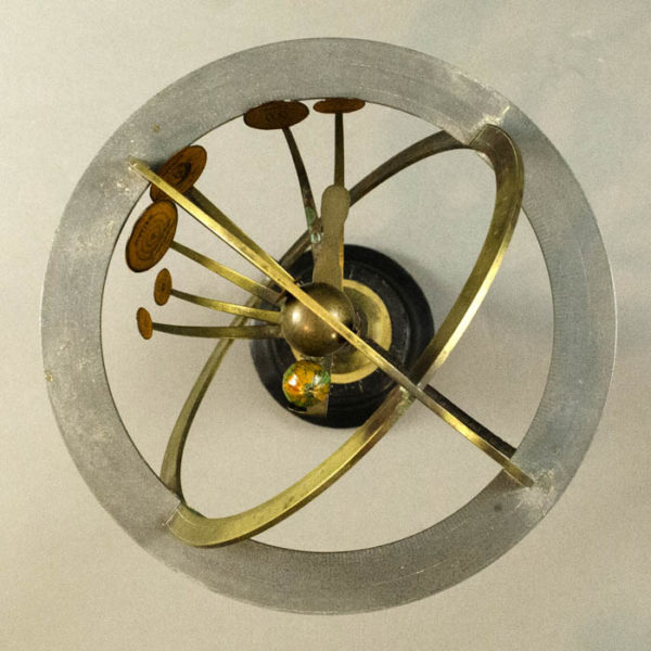 Copernican Armillary Sphere with Internal Orrery, detail