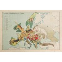 António Soares, Mappa Humoristico da Europa