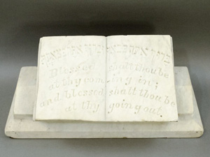 Marble bible