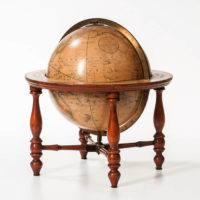 H.B. Nims & Co. 12-Inch Terrestrial Table Globe