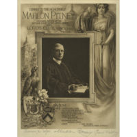Mahlon Pitney, Lotos Club Illustrated Dinner Menu