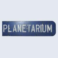 Planetarium Public Sign