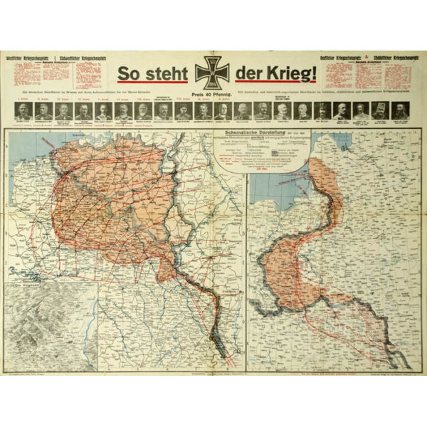 So Steht Der Krieg! [As The War Stands]