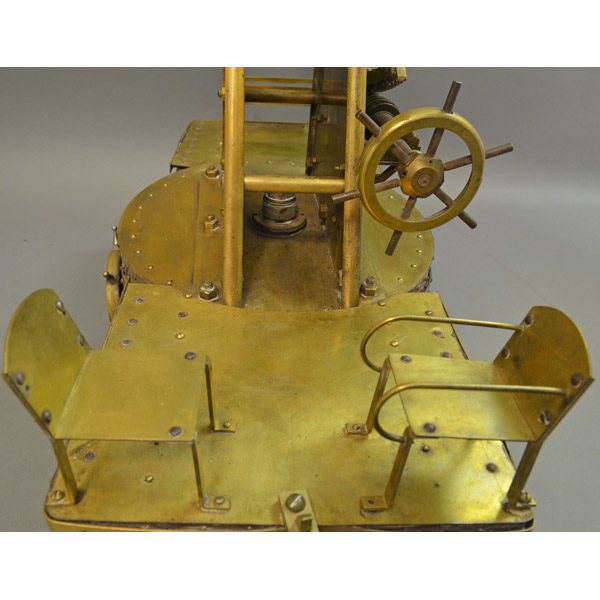 Artillery Cannon Model detail