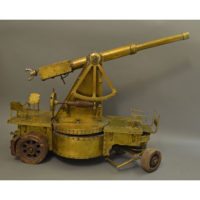 Artillery Cannon Model