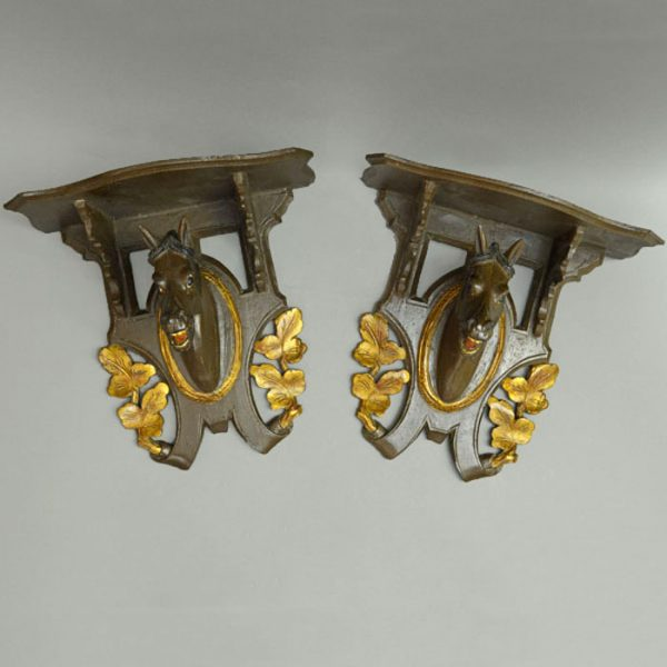 Horse-head Wall Brackets