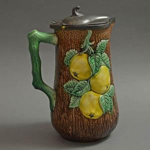Majolica Ceramic Tankard
