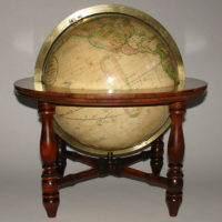 Franklin/Nims 10-Inch Terrestrial Table Globe