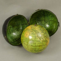 Lane/Harris 2.75-Inch Terrestrial Pocket Globe in Celestial Case