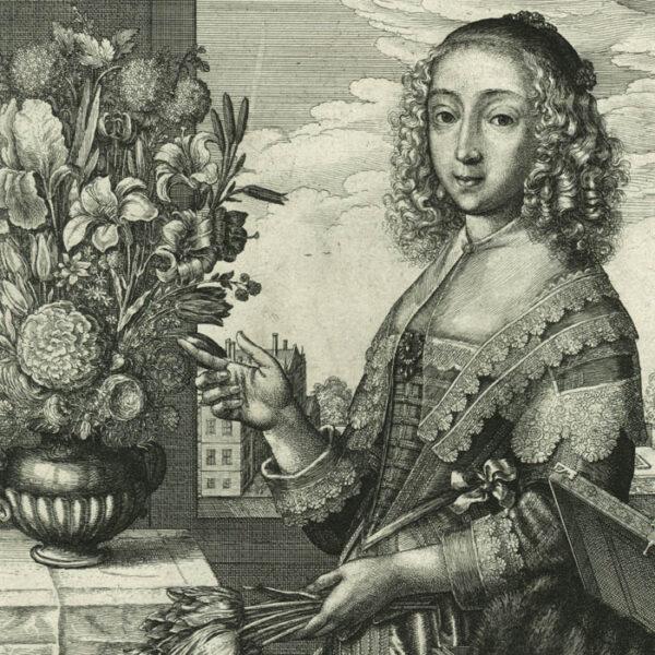 Wenceslaus Hollar, The Four Seasons: Spring, detail
