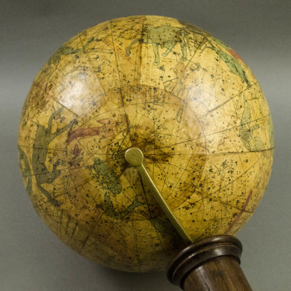 Masonic 10-Inch Celestial Table Globe, detail