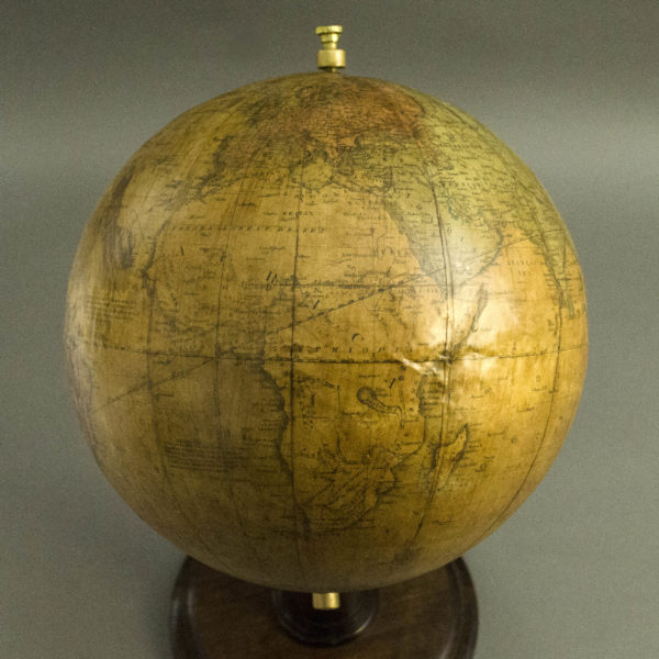 Masonic 10-Inch Terrestrial Table Globe, detail