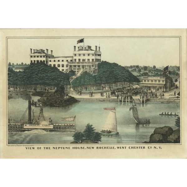 View of the Neptune House, New Rochelle, West Chester Co. N.Y.