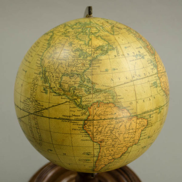 Smith & Son 6-Inch Terrestrial Table Globe, detail