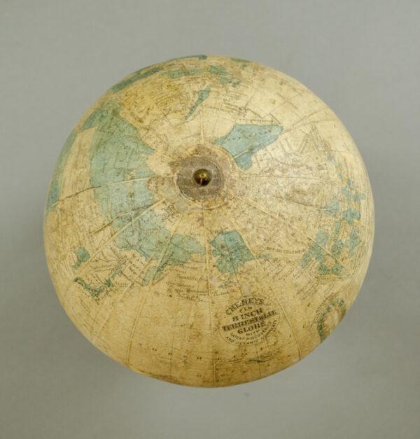 Cheney 8-Inch Terrestrial Globe, detail