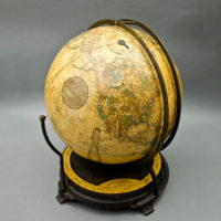 Ginn & Heath, 12-Inch Terrestrial Globe in Fitz Mount