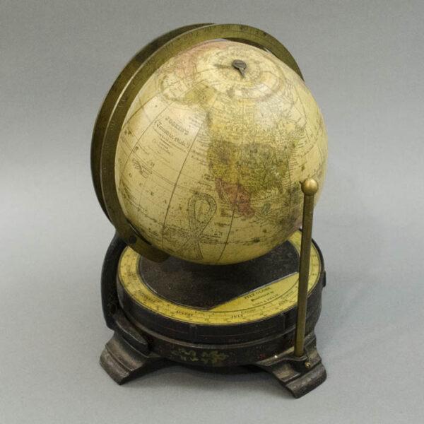 6-Inch Terrestrial Globe in Fitz Mount